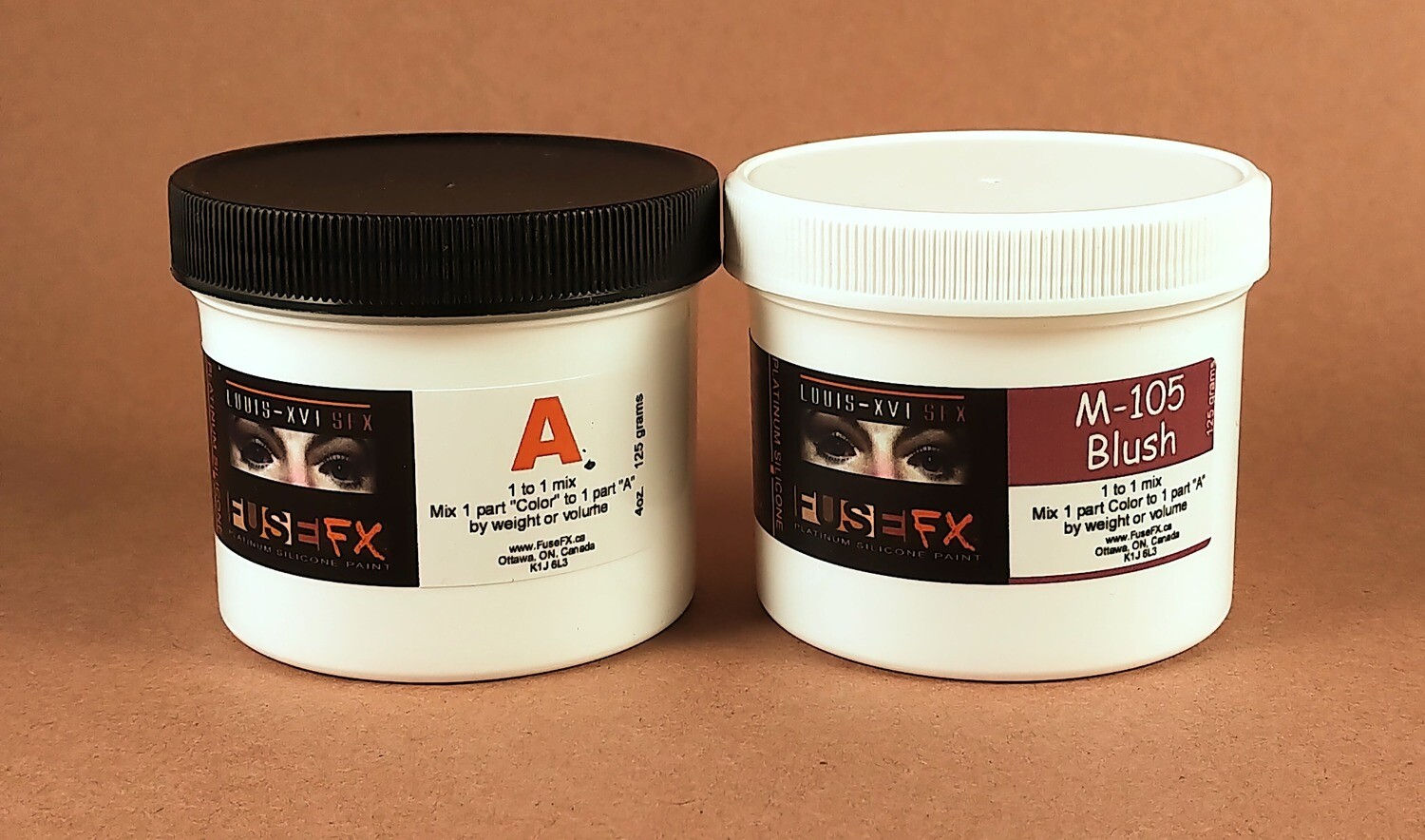 FuseFX M-Series Silicone Paints (250g Kit)