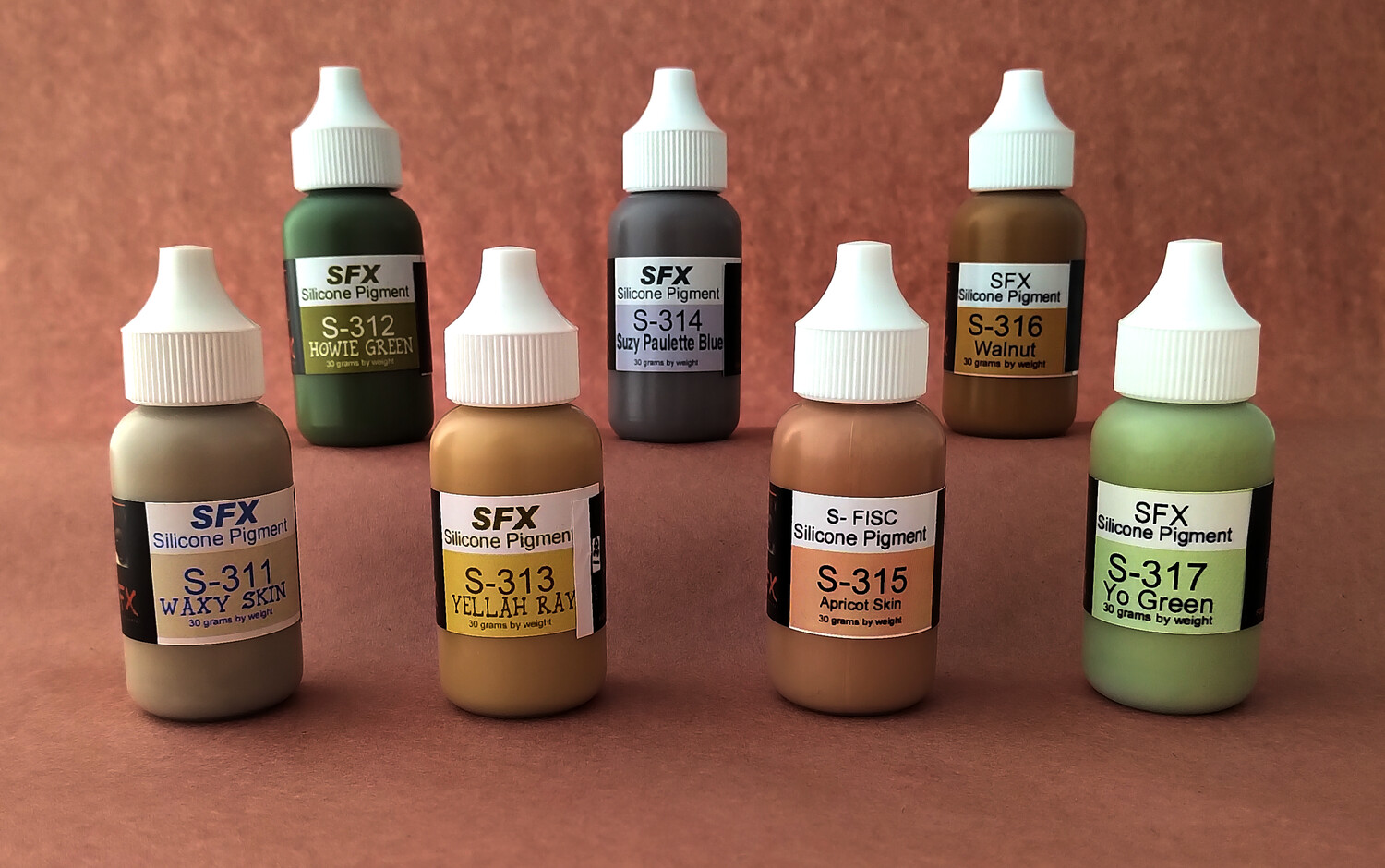 FuseFX SFX-Series Silicone Pigments (250g)