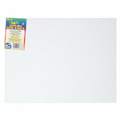 Fun Foam - Extra Thick Sheets 9 X 12