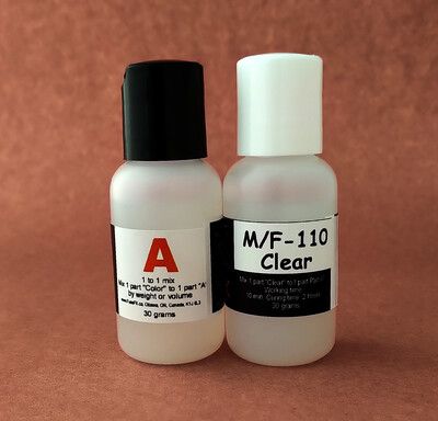 FuseFX M/F-110 Clear Paint (60g Kit)