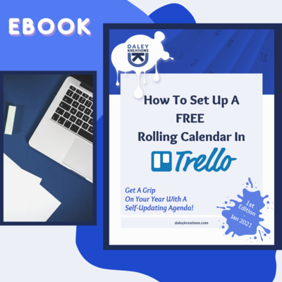 How To Set Up A Free Rolling Calendar In Trello eBook