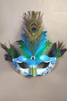 """""""Peacock"""" Masquerade Mask"""