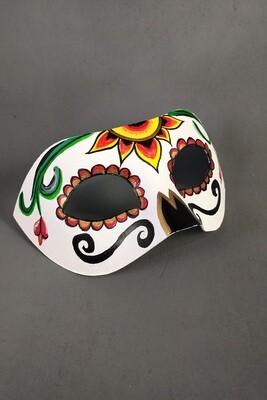 """""""Dia de los Muertos"""" Masquerade Mask"""