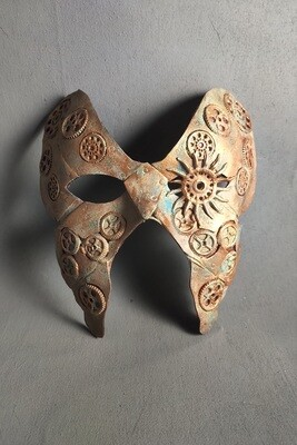 Steampunk Butterfly Masquerade Mask