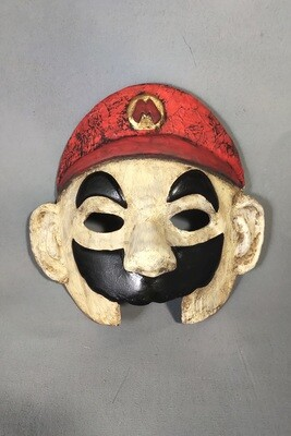 """Italian Plumber"" Mask"