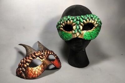 Dragon Masquerade Masks