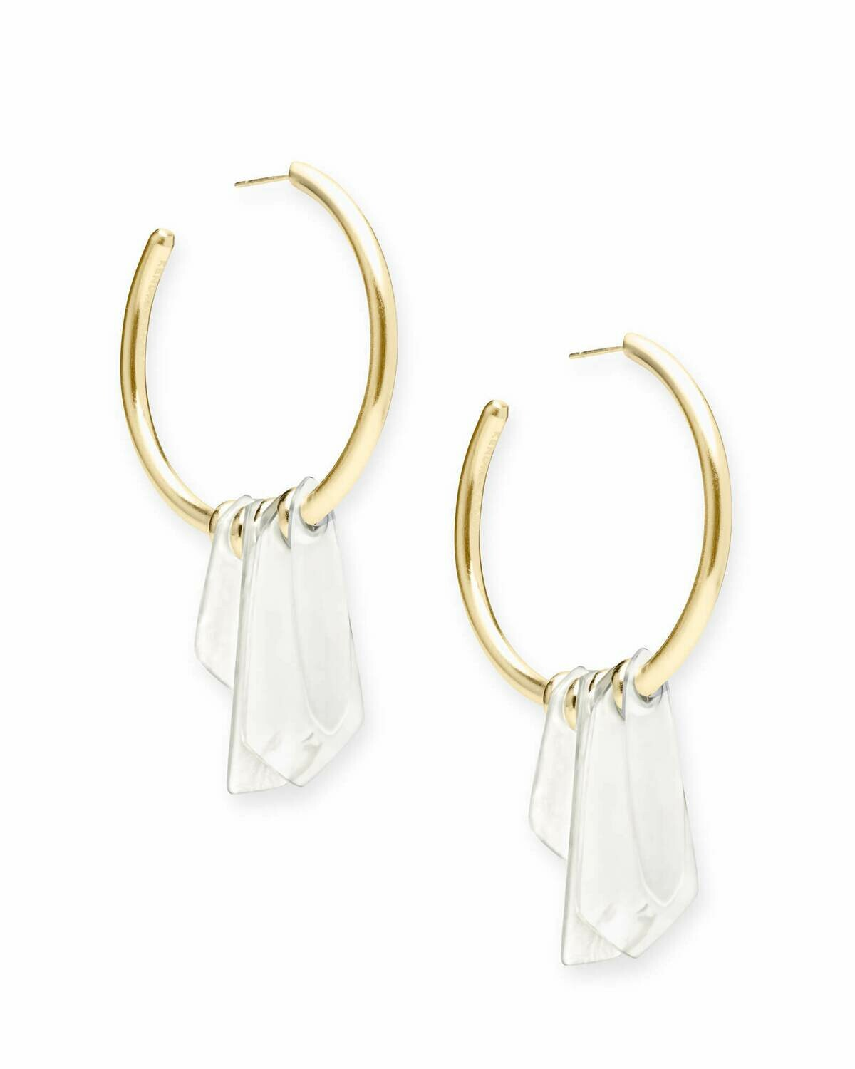 Kendra Scott Gaby Statement Earrings in Gold