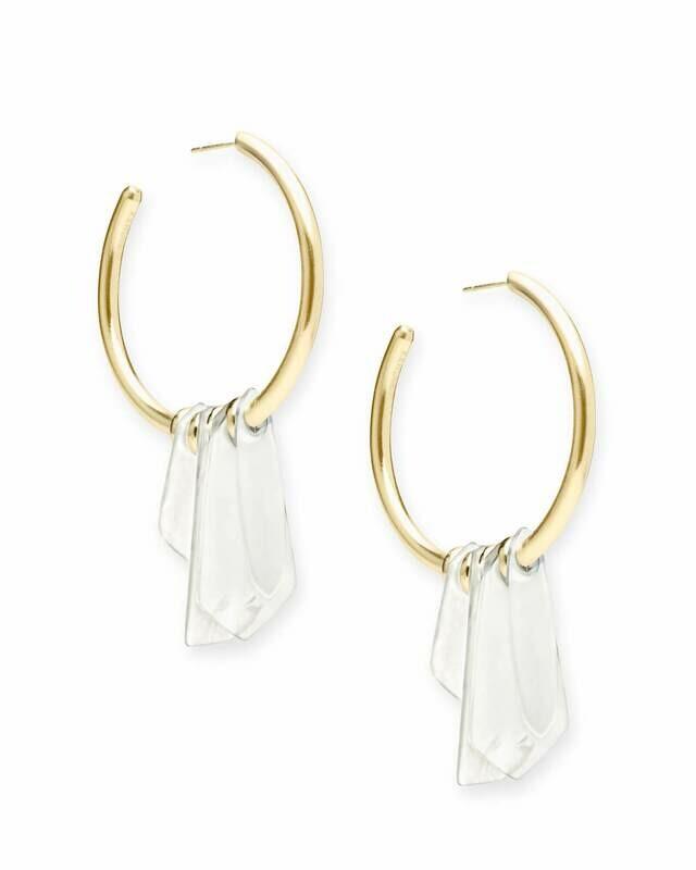 Kendra Scott Gaby Statement Earrings in Gold