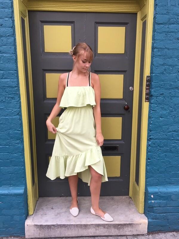 Lush Lime Dress