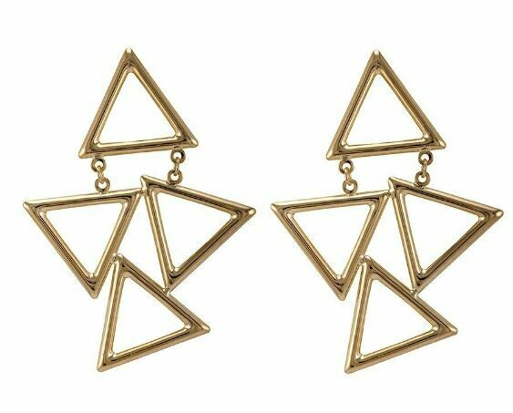 Sheila Fajl Siggi Earring Gold Plated