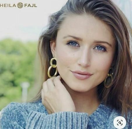 Sheila Fajl Miriam Earring Gold Plated