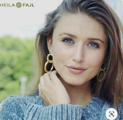 Sheila Fajl Miriam Earring Gold Plated