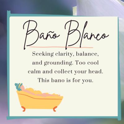 Bano Blanco (White Bath)