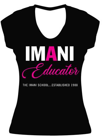 Imani Educator Fitted Tee