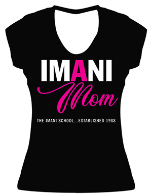 Imani Mom Fitted Tee