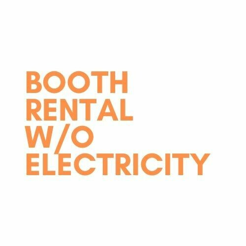 Booth Rental w/o electricity