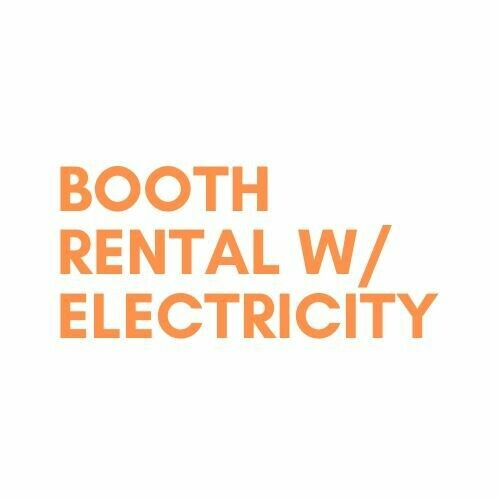 Booth Rental w/electricity