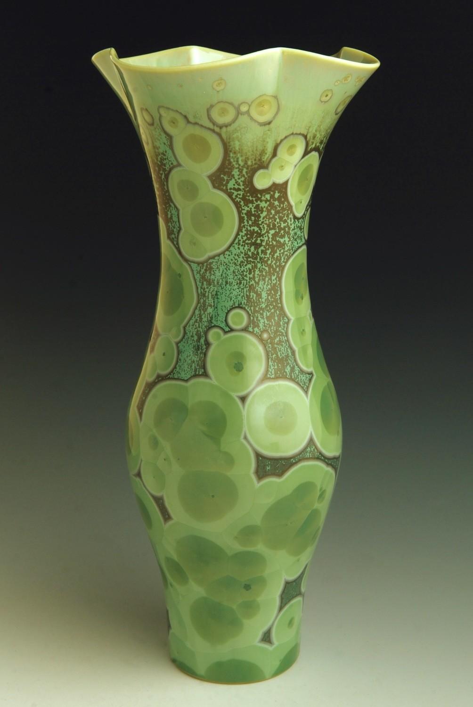 "Green Vase 12"""