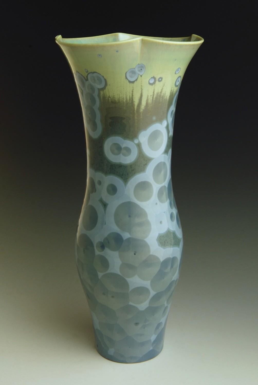 "Blue Vase 12 ¾"""