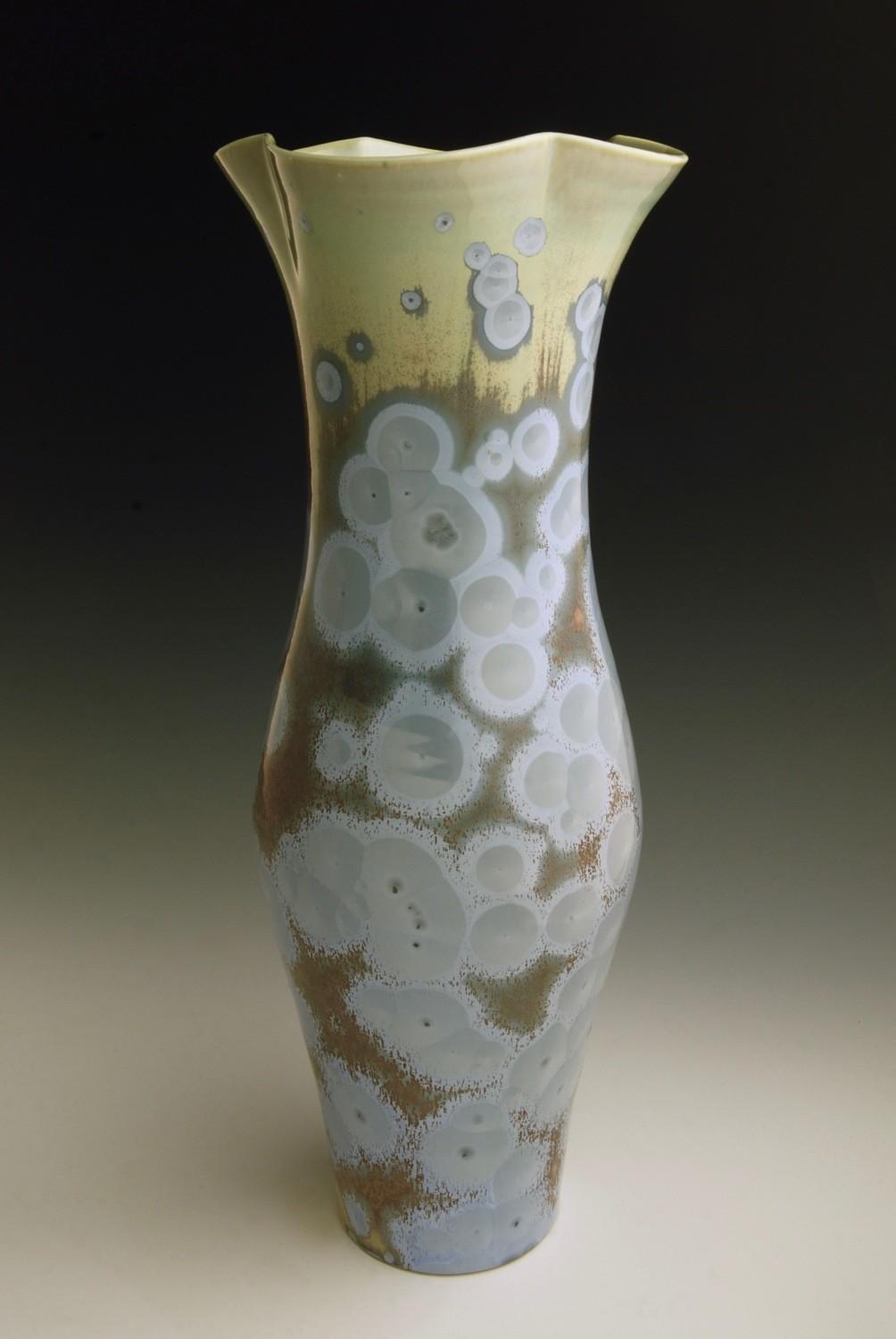 "Blue Vase 13 ½"""