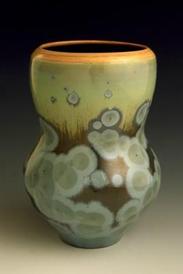 Blue/Green Vase 7 ¼