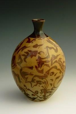 Porcelain Bottle 6 ½