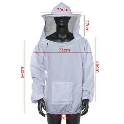Velo con chaqueta para apicultura