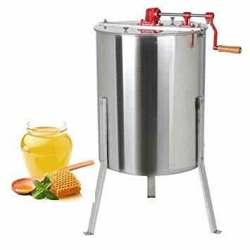 Centrífuga manual para la extracción de miel