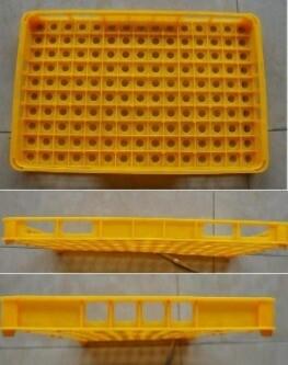 Envase Plástico para Transporte de Huevos de Codorniz