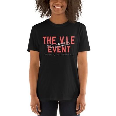 V.I.E Event Official Short-Sleeve Unisex T-Shirt