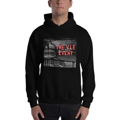 V.I.E Event Official Graphic Hooded Sweatshirt