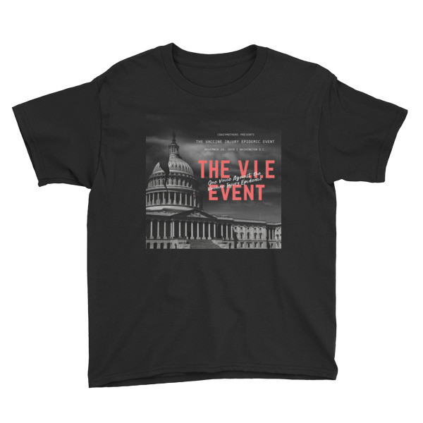 V.I.E Event Official Youth Short Sleeve T-Shirt