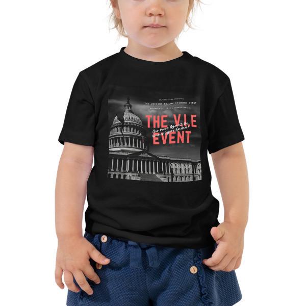 V.I.E Event Official Toddler Short Sleeve Tee