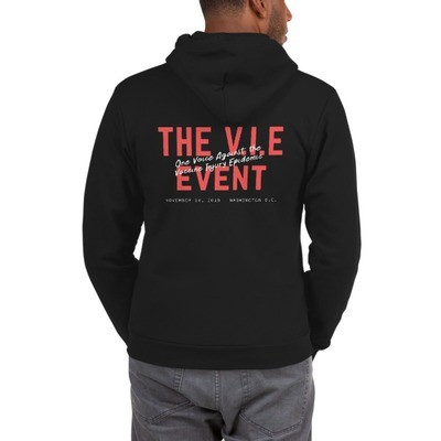 The V.I.E Event Back Hoodie Sweater - Unisex