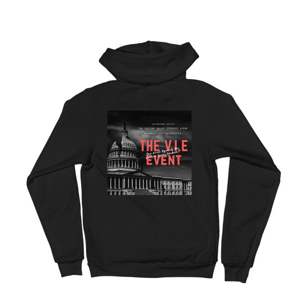 V.I.E Event Back Graphic Hoodie Sweater - Unisex
