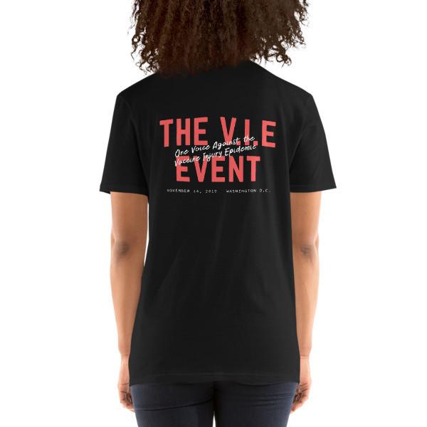 The V.I.E Event Back Short-Sleeve Unisex T-Shirt