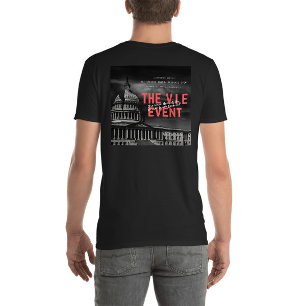 The V.I.E Event Back Graphic Short-Sleeve Unisex T-Shirt