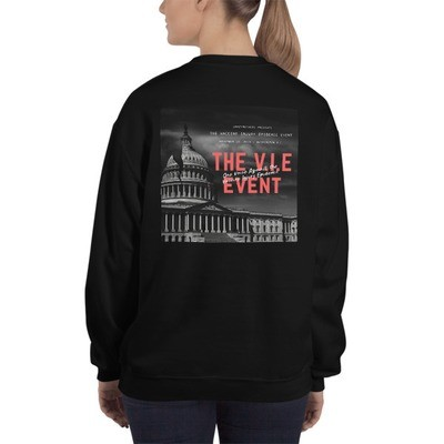 The V.I.E Event Back Graphic Sweatshirt - Unisex