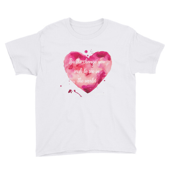 Be the Change - Youth Short Sleeve T-Shirt