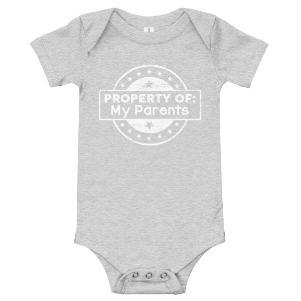 Property of My Parents Onesie