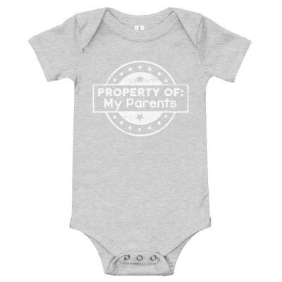 Property of My Parents Onesie