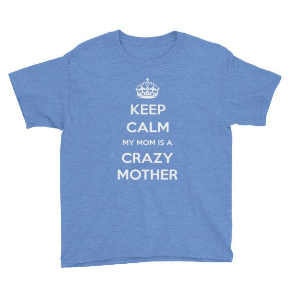 Keep Calm - Youth Short Sleeve T-Shirt