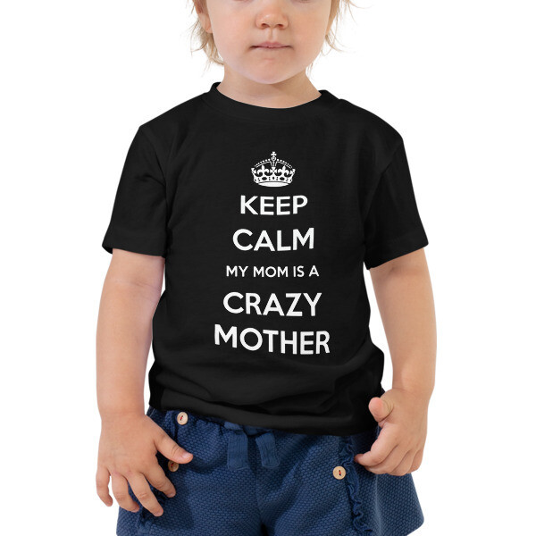 Keep Calm - Toddler Short Sleeve Tee