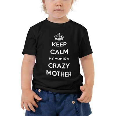 Keep Calm - Toddler Short Sleeve Tee