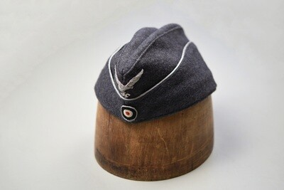 WWII GERMAN LUFTWAFFE OFFICER SIDE CAP