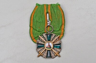 WWI GERMAN BADEN ORDER OF THE ZÄHRINGER LION, KNIGHTS CROSS 1st CLASS w/SWORDS