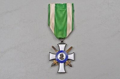 WWI GERMAN SAXON ORDER OF ALBERT, KNIGHTS CROSS 2nd CLASS - MARKED