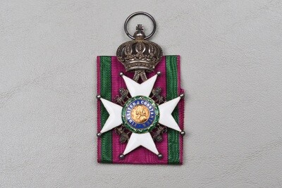 WWI GERMAN SAXE-ERNESTINE HOUSE ORDER 2nd CLASS
