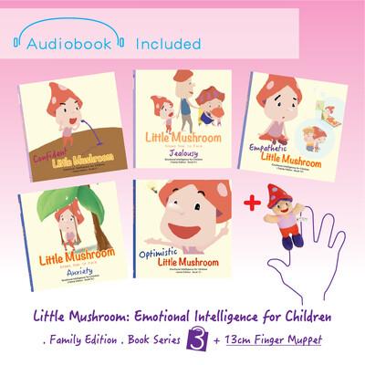 Family Edition - Series 3 (5books) + 1 Finger Muppet (13cm)