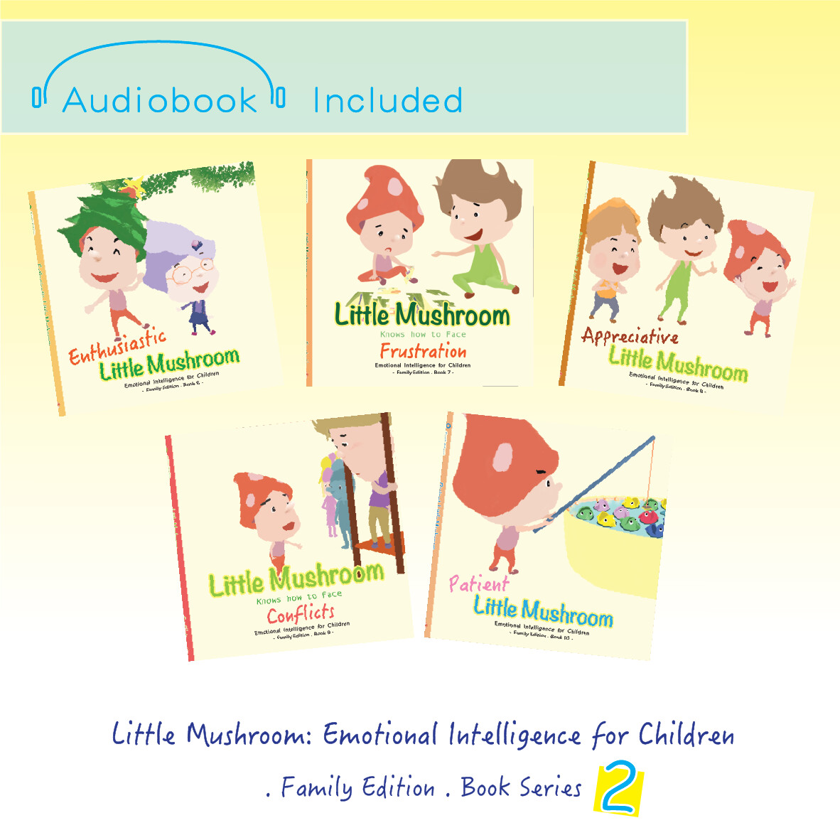 Family Edition - Series 2 (5books)